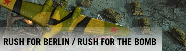Kolekce Rush for Berlin a Rush for the Bomb