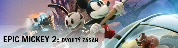 Epic Mickey 2: Dvojit zsah